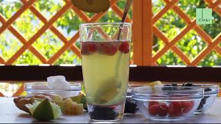 Limonada z zelenim čajem