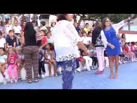 Irene García inaugura el pabellón polideportivo cubierto del colegio San José de Calasanz, en Rota