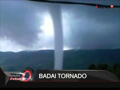 Badai Tornado Di Solok Sumbar, Tornado Terjadi Selama 5 Menit - iNews Petang 23/07