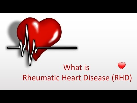 Video What is Rheumatic Heart Disease (RHD)