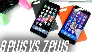 АХАХА Я УДИВЛЁН! Сравним скорость iPhone 8 Plus vs. 7 Plus
