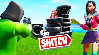 If You DON'T SNITCH You DIE! (Fortnite Snitch Hide And Seek)