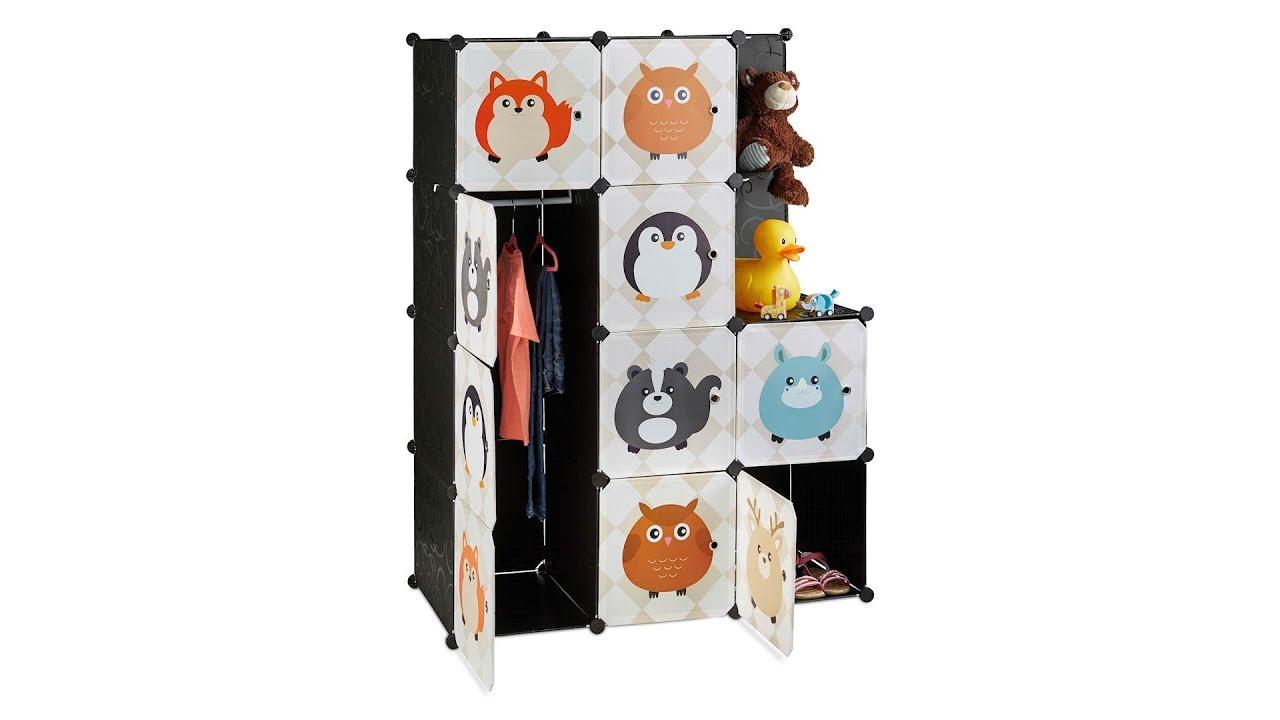 Video von: Steckregal Kinderzimmer mit Tiermotiven