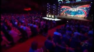 Australia's Got Talent 2010 - Taylor Henderson and Cameron Henderson