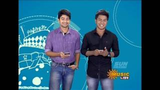 Sun music Vaazthukkal,show Vj Kathirravan HD Video 20-07- 2016 Part -2