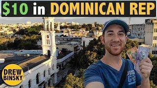 $10 CHALLENGE in DOMINICAN REPUBLIC 🇩🇴