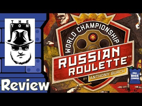 World Championship Russian Roulette Review - with Tom Vasel