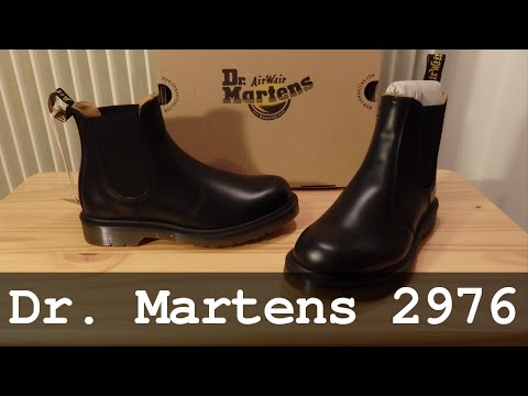 Dr. Martens 2976 | Black Smooth Booties