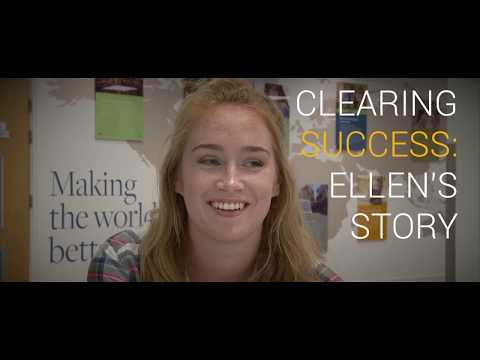 Clearing success: Ellen's story | University of Southampton
