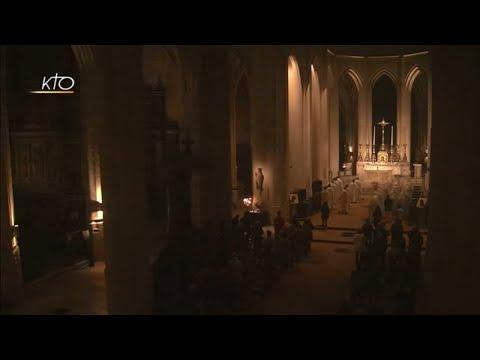 Vêpres et messe du 3 novembre 2018