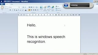 PC Speech Recognition Software