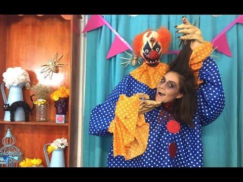 ¡EL DISFRAZ MÁS CREATIVO! | DIY PAYASO ASESINO CON TU CABEZA EN MANO 😱 | HALLOWEEN SUSIDEAS 💡