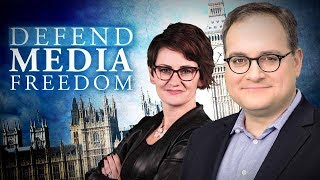 "Ezra Levant: ""A lot of weirdness"" at Defend Media Freedom Conference in London, UK"