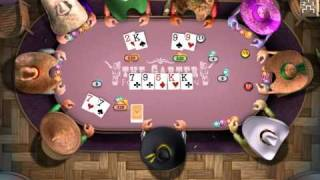 Lets Play Governor Of Poker (German) Part 2.