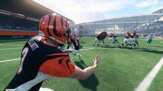 Can A Kicker Get A 110 Yard Touchdown Off A Fake Field Goal? Madden NFL 18