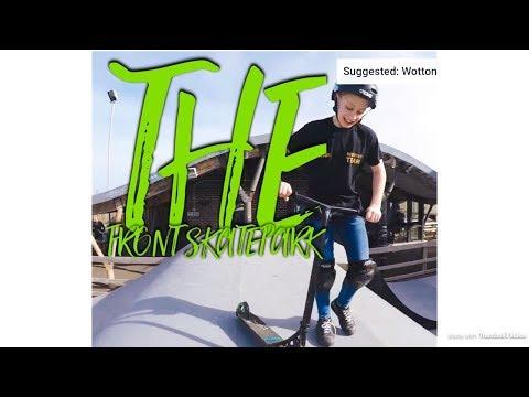 Team Visit  - The front skatepark