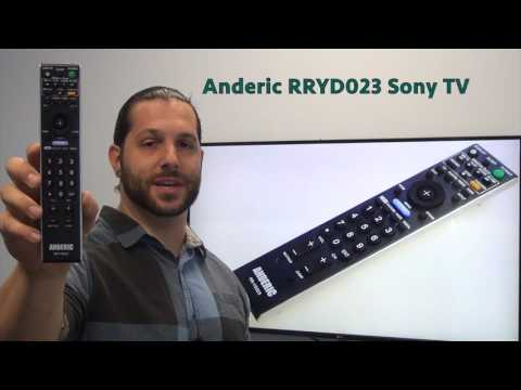 ANDERIC RRYD023 Sony TV Remote Control
