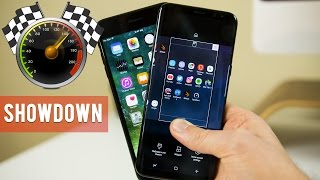 Galaxy S8 Plus vs iPhone 7 Plus: Ultimate Speed Test!