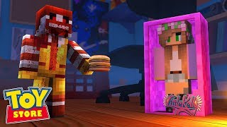RONALD MCDONALD DOLL GOES PSYCHO ! Minecraft ToyStore | Little Kelly