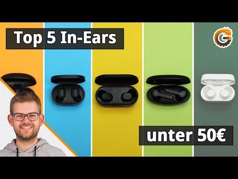 Die besten Bluetooth Kopfhörer: Unsere Top 5 In-Ears unter 50€