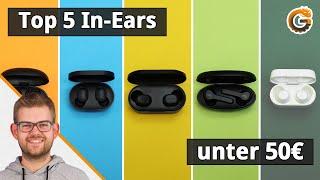 Die besten kabellosen In-Ear Kopfhörer unter 50€ (Top 5)