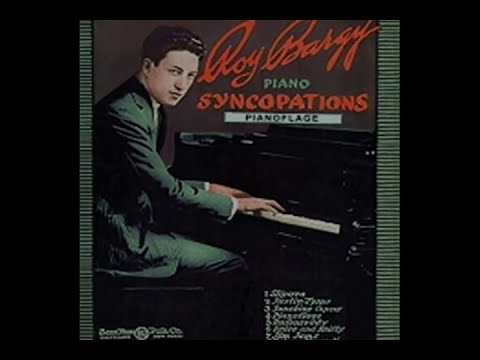 Roy Bargy's 1922 Pianoflage piano roll online metal music video by ROY BARGY