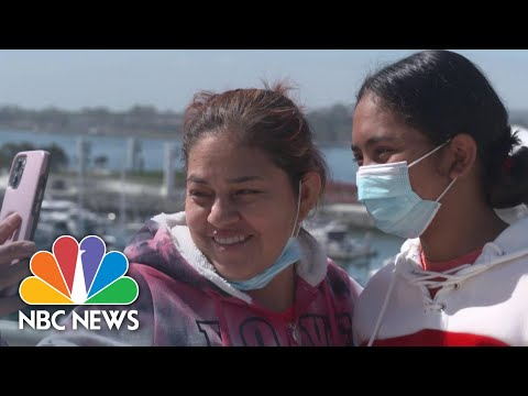 Teen Migrant Recovers From Covid, Reunites With Mother After Years Apart | NBC News NOW