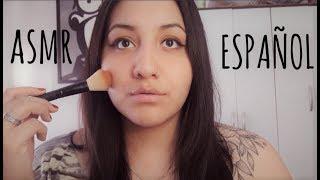 ASMR Español | Respondiendo Sus Preguntas Mientras Me Maquillo 💜💚