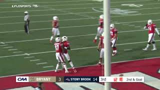CAA Football Highlights Week 1: Stony Brook 35, Bryant 10