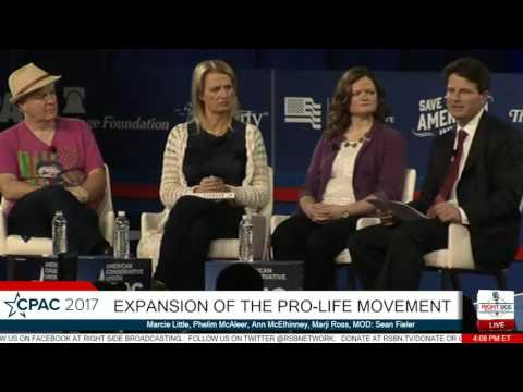Expansion of the Pro-Life Movement: Marcie Little, Phelim McAleer, Ann McElhinney- CPAC 2017