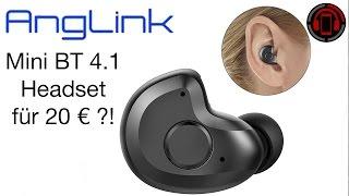 20 € Mini Bluetooth Headset - Taugt das was?