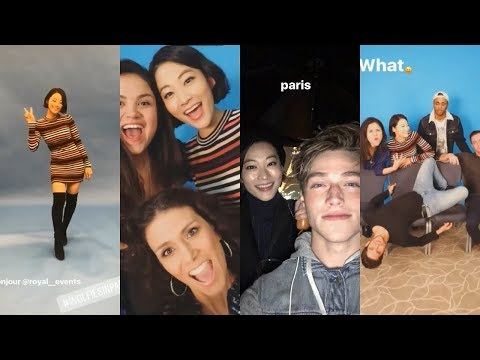 Teen Wolf Cast | Wolfies in Paris Convention | Arden Cho, Tyler Posey, Froy Gutierrez, Khylin Rhambo