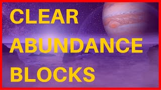 Clear Abundance Blocks and RECEIVE UNEXPECTED MONEY 183,58HZ  Binaural Beats 🎧 The Law of Vibration