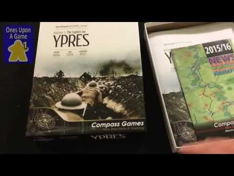 Red Poppies Campaigns Volume 1: Battles for Ypres Unboxing by Ones Upon a Game