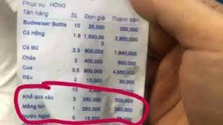 Chinese tourists ripped off? Nha Trang restaurant fined $33 for not listing prices
