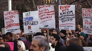 NYC: Thousands Protest Trump Plan to Impose Ban on Refugees, Block Visas from 7 Muslim Nations