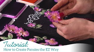 How to Create Pansies the EZ Way