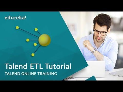 Talend ETL Tutorial | Talend Online Training | Edureka
