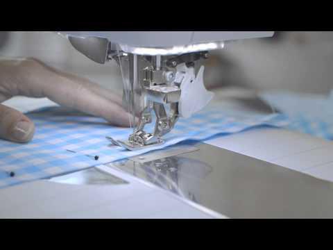 BERNINA 880 PLUS how to sew with the BERNINA Dual Feed (BDF)