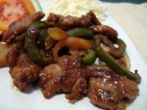 Video Resep Bumbu Masakan Tumis Ayam Kecap Jepang
