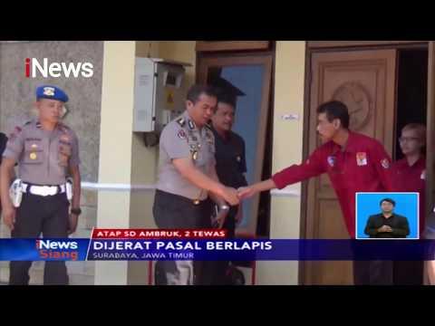 Polisi Tahan 2 Kontraktor Pembangunan SD Gentong - iNews Siang 12/11
