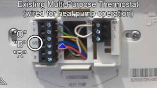 Heat pump operation thermostat wiring most popular videos heat pump wiring mechanical settings fandeluxe Images
