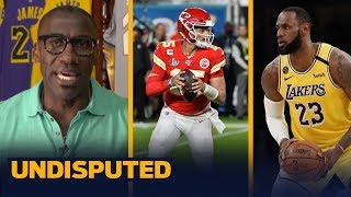 LeBron can do more to influence a game than Patrick Mahomes — Shannon Sharpe | UNDISPUTED