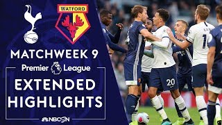 Tottenham v. Watford | PREMIER LEAGUE HIGHLIGHTS | 10/19/19 | NBC Sports