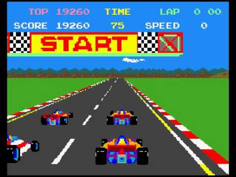 Atari ST Pole Position - work in progress 21 March 2014