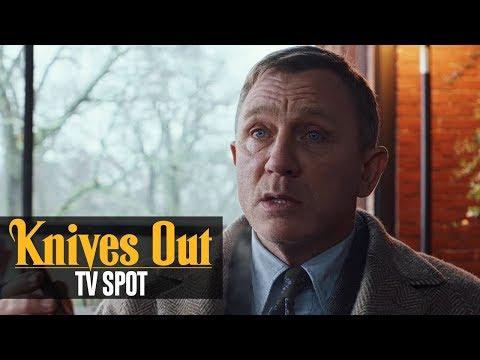 "Knives Out (2019) Official TV Spot ""Who Hired You""– Daniel Craig, Chris Evans, Ana de Armas"