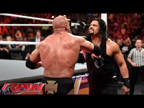 Download Roman Reigns Brutalizes Triple H: Raw, March 14, 2016 HD Mp4 3GP Video and MP3
