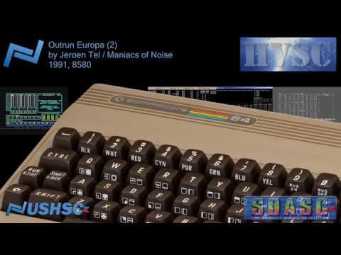 Outrun Europa (2) - Jeroen Tel / Maniacs of Noise - (1991) - C64 chiptune