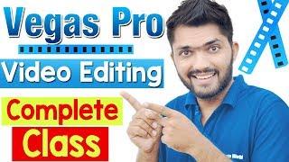 Vegas pro Video Editing Tutorial in Hindi