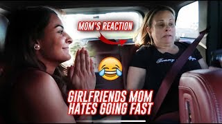 GIRLFRIEND'S MOM REACTION TO MY 707HP JEEP TRACKHAWK